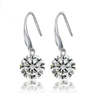 Pierced Diamond Earrings